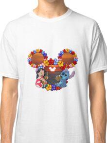 lilo and stitch sunset Classic T-Shirt