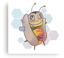 Hot Dog Bee Canvas Print