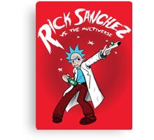 Rick Sanchez Vs. The Multiverse shirt hoodie pillow iphone ipad case Canvas Print
