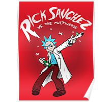 Rick Sanchez Vs. The Multiverse shirt hoodie pillow iphone ipad case Poster