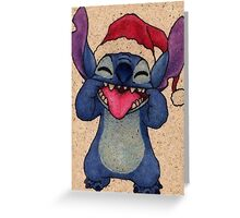 stitch swag hipsters lilo and stitch Greeting Card