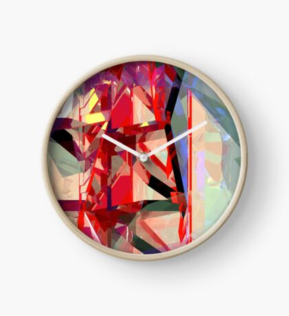 Red Tower Clock