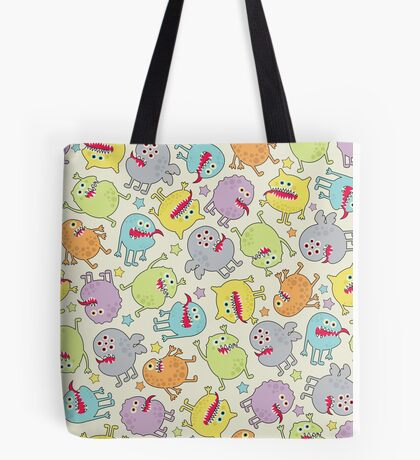 Cute small monsters. Tote Bag