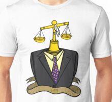 Justice Wears A Suit Unisex T-Shirt