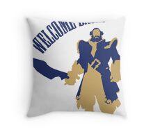 kunkka shirt dota2 welcome back Throw Pillow