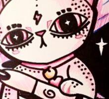 Spoopy Space Cat Sticker