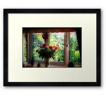 My Room-My View Framed Print