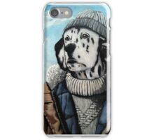 SeaDog - anthropomorphic dog portrait iPhone Case/Skin