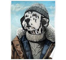 SeaDog - anthropomorphic dog portrait Poster