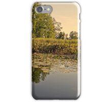 Lake Reflection Water Landscape Photo iPhone Case/Skin