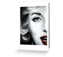 Ms. Marilyn Monroe Greeting Card