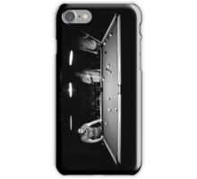 Boys playing pocket billiards iPhone Case/Skin