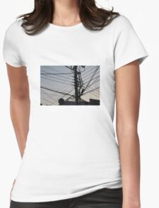 Electric Busan Womens Fitted T-Shirt