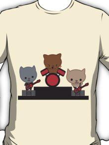 Kitty Cat Kawaii Band T-Shirt