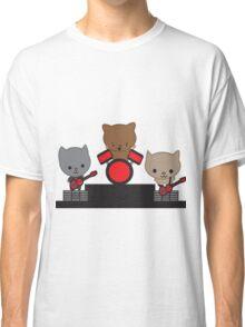 Kitty Cat Kawaii Band Classic T-Shirt