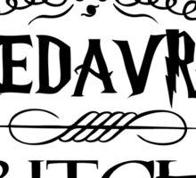 Avada Kedavra Sticker