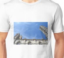 Detail of cathedral in Siena, Italy Unisex T-Shirt