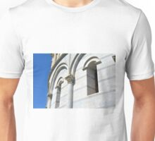 Detail of classical facade with column and arches from Pisa Unisex T-Shirt