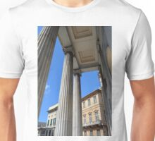 Classical ionic temple from Genova, Italy Unisex T-Shirt