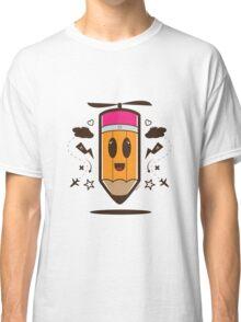 Fly Pencil Vector Classic T-Shirt