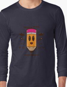 Fly Pencil Vector Long Sleeve T-Shirt
