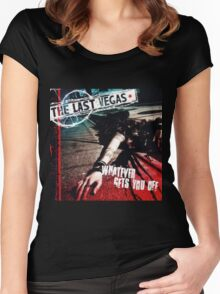 The Last Vegas Whatever Gets You Off Women's Fitted Scoop T-Shirt