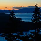 Sunset Looking North From Angora Ridge by Jared Manninen