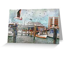 Birds Flying High, You Know How I Feel... Greeting Card