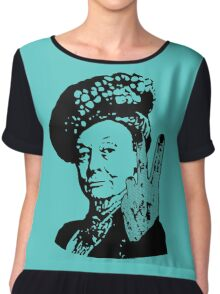 If you may Your Majesty Chiffon Top