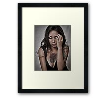 WHAT WILL I DO NOW?   ... Framed Print
