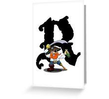 Arrrtistic Pirate Greeting Card