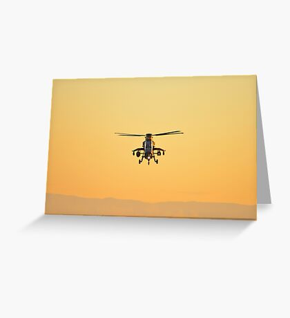 Eurocopter Tiger - Army Helicopter   Greeting Card