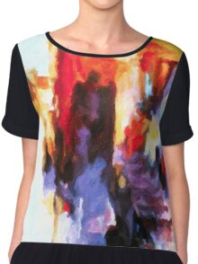 Seven Steps Abstract Chiffon Top