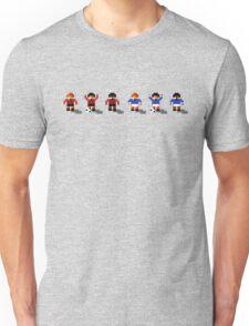 Bournemouth vs Portsmouth 2016/17 - Sensible World Of Soccer Sprites Unisex T-Shirt