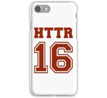 #HTTR - Hail To The Redskins iPhone Case/Skin