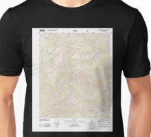 USGS TOPO Map California CA Waterman Mountain 20120328 TM geo Unisex T-Shirt