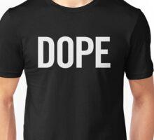 Dope (White) Unisex T-Shirt