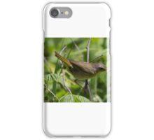 Yellowthroat Warbler iPhone Case/Skin