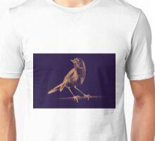 Drawing of hummingbird. Illustration Unisex T-Shirt