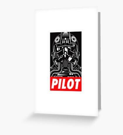PILOT Greeting Card