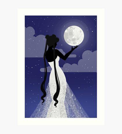Queen Serenity Art Print