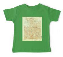 USGS TOPO Map California CA Tesla 298992 1907 62500 geo Baby Tee
