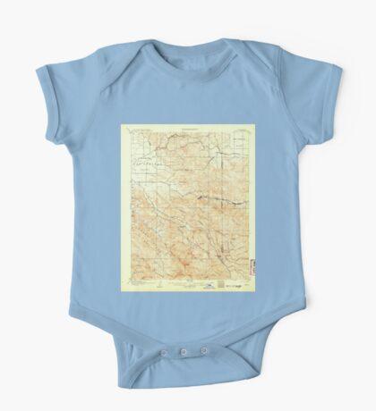 USGS TOPO Map California CA Tesla 298992 1907 62500 geo One Piece - Short Sleeve