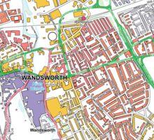 Multiple Deprivation Fairfield ward, Wandsworth Sticker
