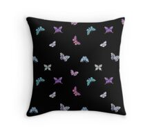 Butterfly Jewels Throw Pillow