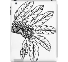 EmmaJonesArt Monochrome Chief iPad Case/Skin