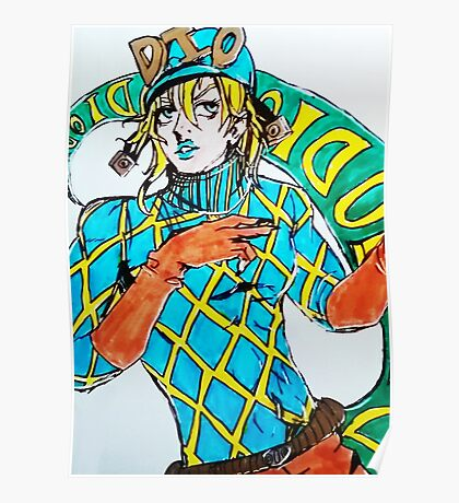 Diego Drawing Poster