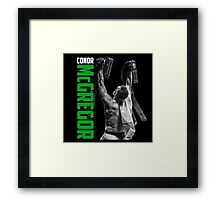 Conor McGregor - UFC Two Weight World Champ Framed Print