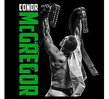Conor McGregor - UFC Two Weight World Champ Photographic Print