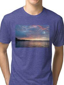 Minutes Before Sunrise - Toronto Skyline Under Spectacular Clouds Tri-blend T-Shirt